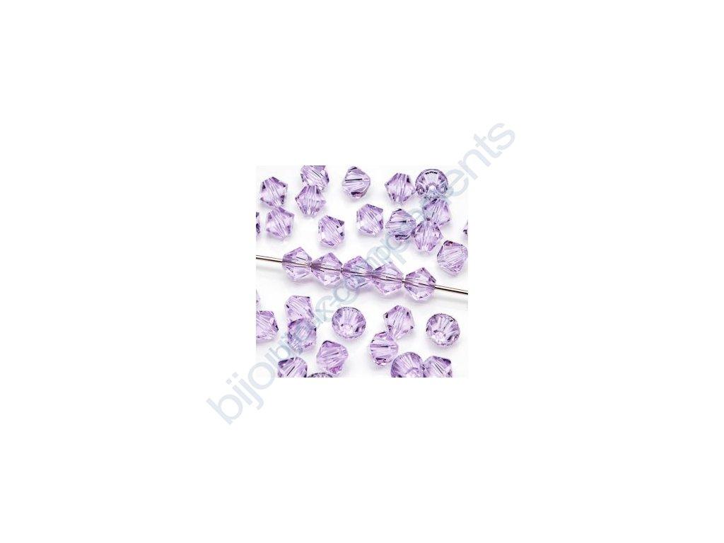 SWAROVSKI ELEMENTS XILION sluníčko, violet, 3mm