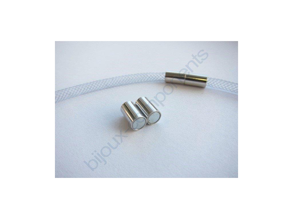 Magnetické zapínání trubička, cca 20mm/ 6mm