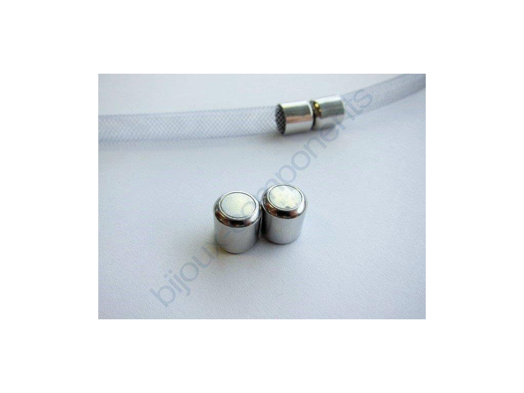 Magnetické zapínání trubička, cca 18mm/ 8mm