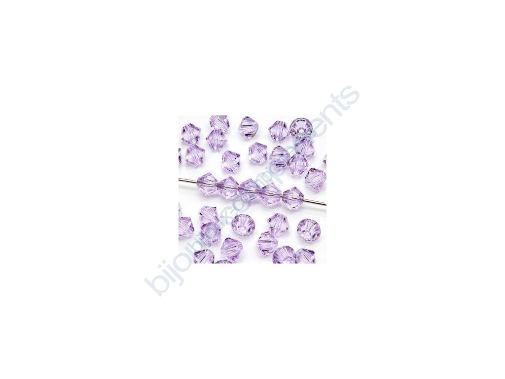 SWAROVSKI ELEMENTS XILION sluníčko, violet, 4mm