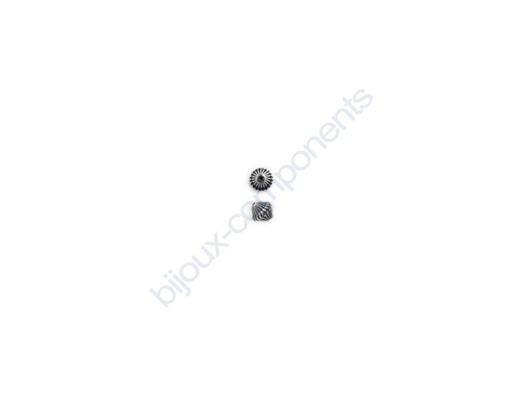Akrylové korálky - 8,7x9,2 mm