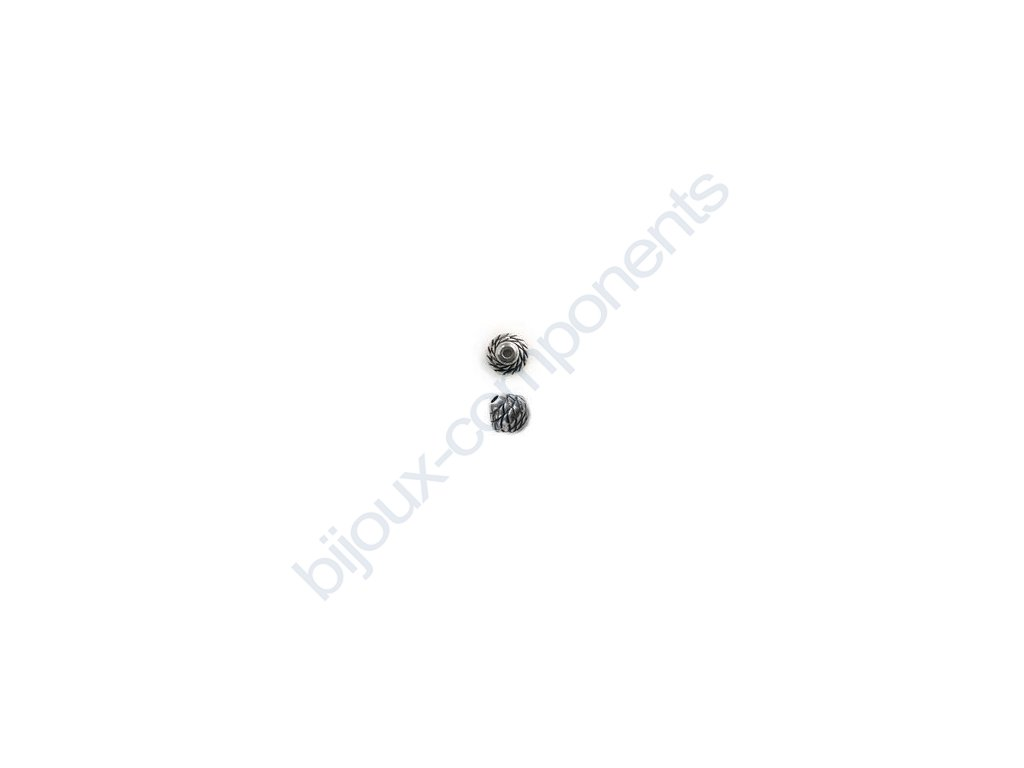 Akrylové korálky - 8x7mm