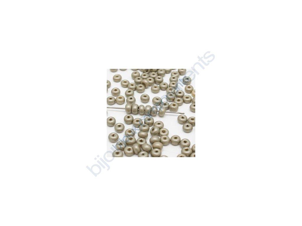 skleněné korálky - ramš, cca 2,5x4mm