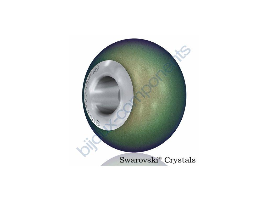SWAROVSKI ELEMENTS BeCharmed Pearl - crystal scarabeus pearl steel, 14mm