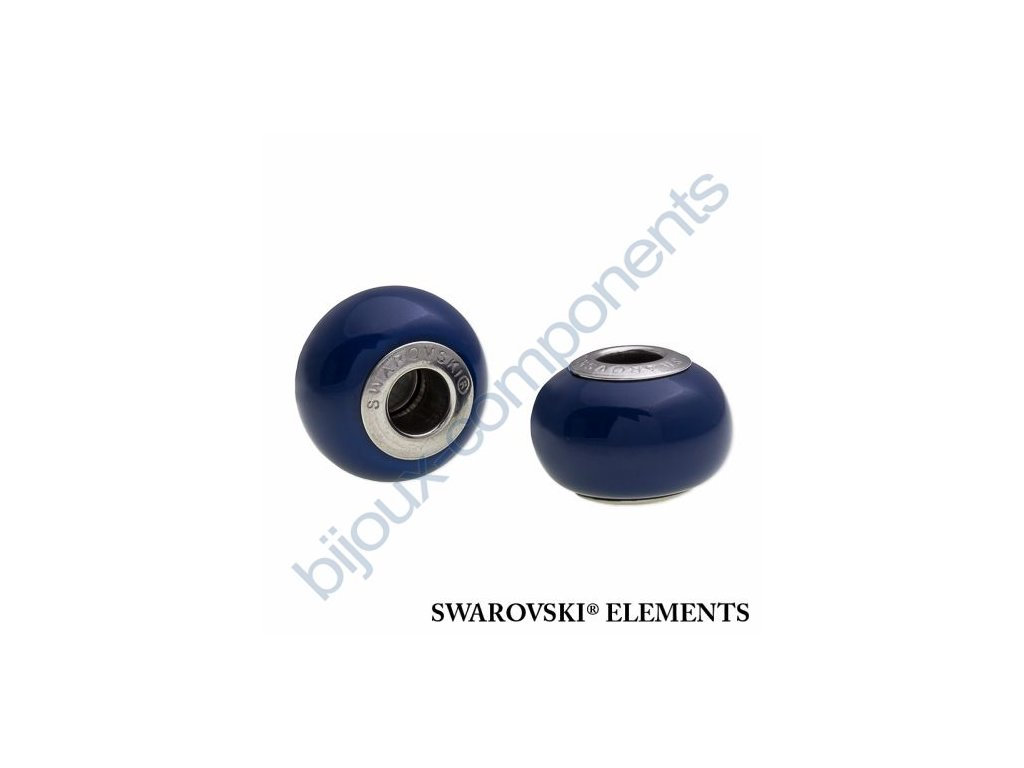 SWAROVSKI ELEMENTS BeCharmed Pearl - crystal dark lapis pearl steel, 14mm