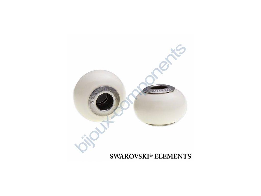 SWAROVSKI ELEMENTS BeCharmed Pearl - crystal ivory pearl steel, 14mm