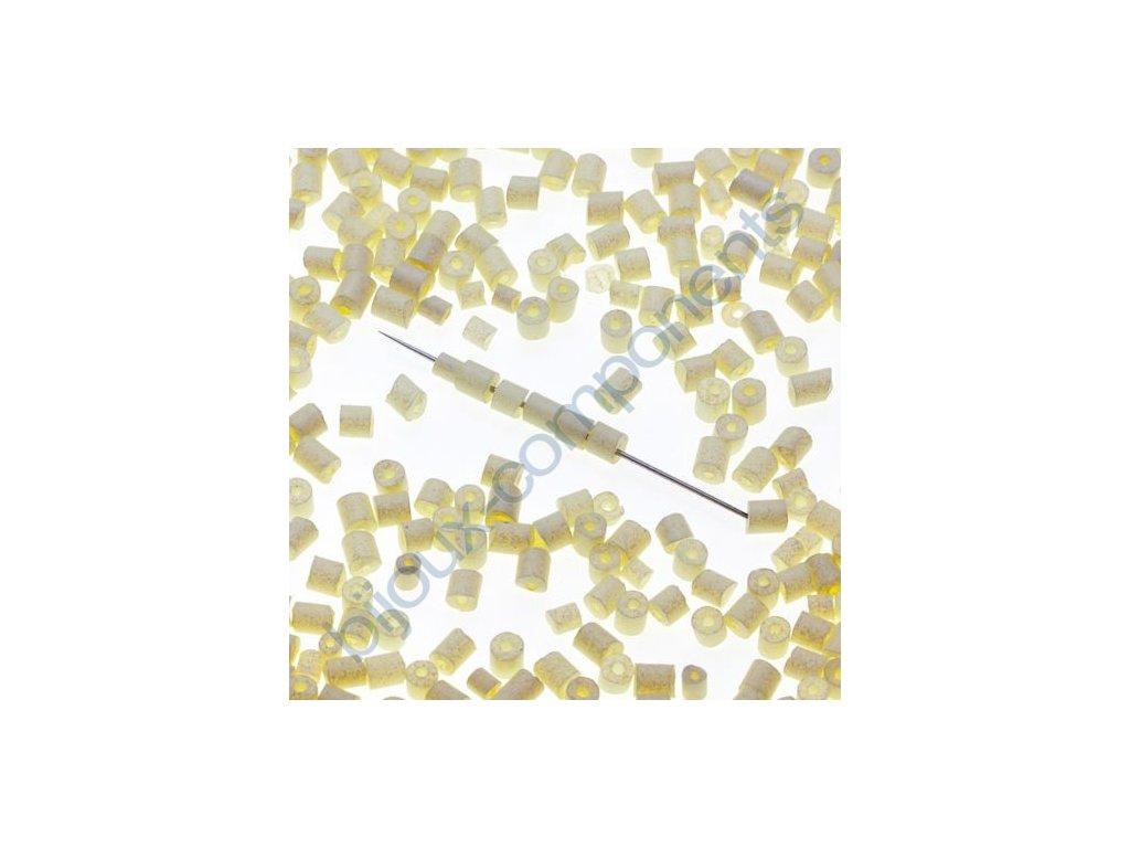 skleněné korálky - ramš, cca 2,5x2,2mm