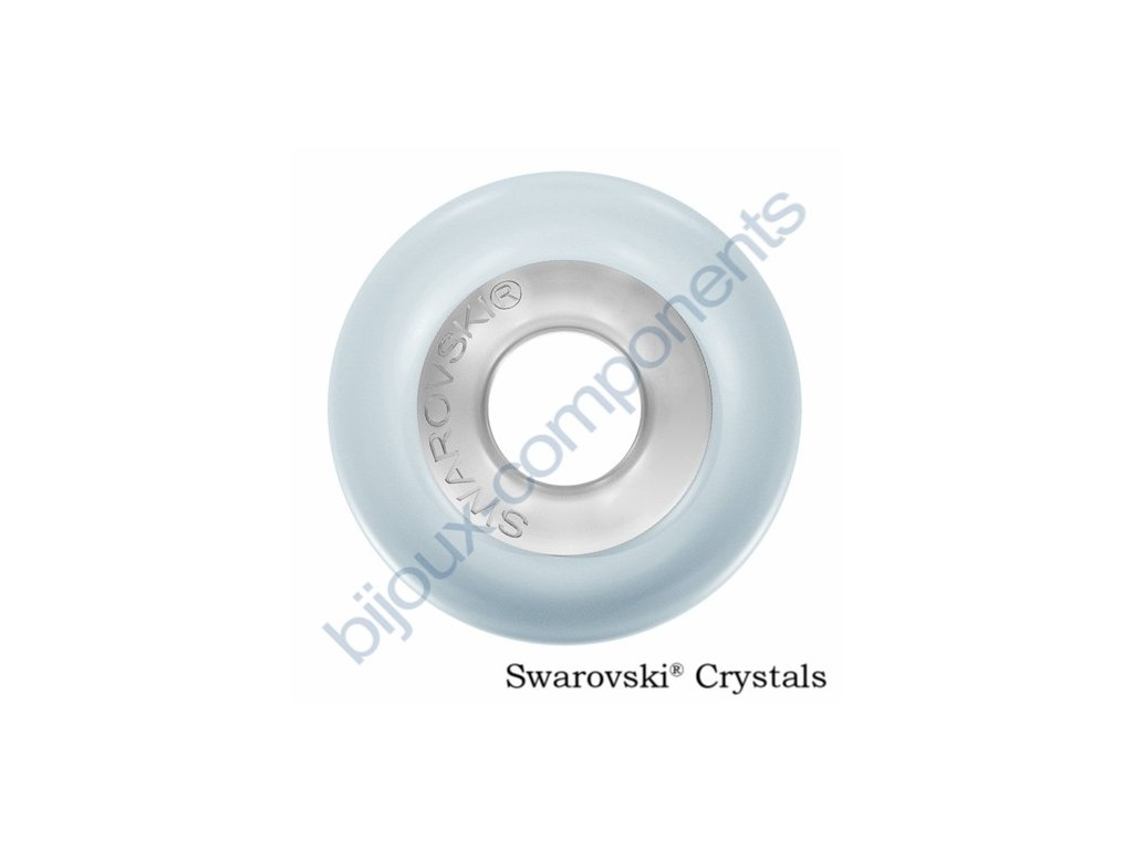SWAROVSKI CRYSTALS BeCharmed Pearl - crystal pastel blue steel, 14mm