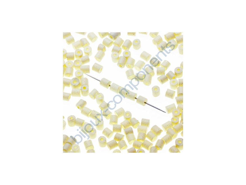 skleněné korálky - ramš, cca 2,7x2,5mm