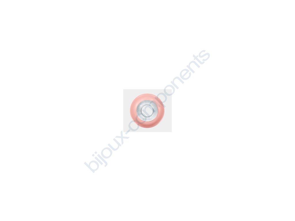 SWAROVSKI CRYSTALS BeCharmed Pearl - crystal pink coral pearl steel, 14mm