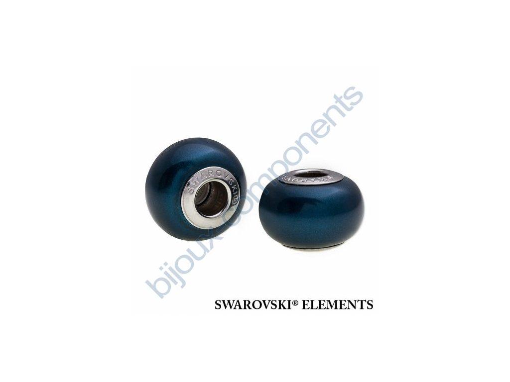 SWAROVSKI ELEMENTS BeCharmed Pearl - crystal petrol pearl steel, 14mm