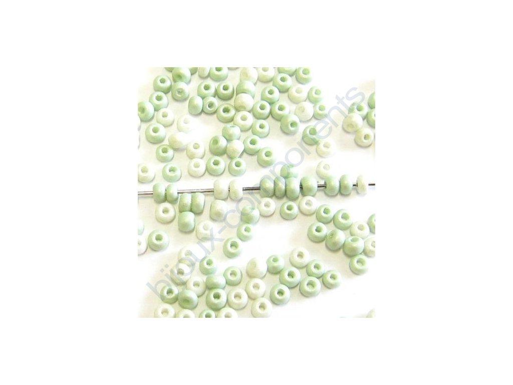 skleněné korálky - ramš, cca 2x3,2mm
