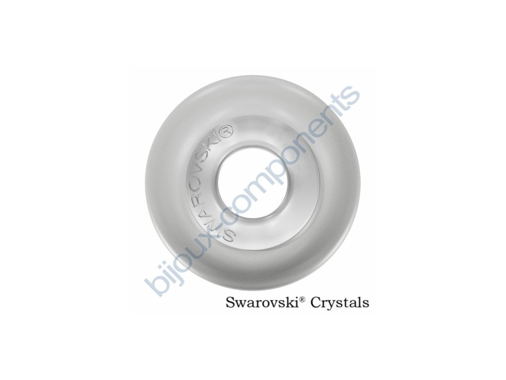 SWAROVSKI CRYSTALS BeCharmed Pearl - crystal pastel grey steel, 14mm