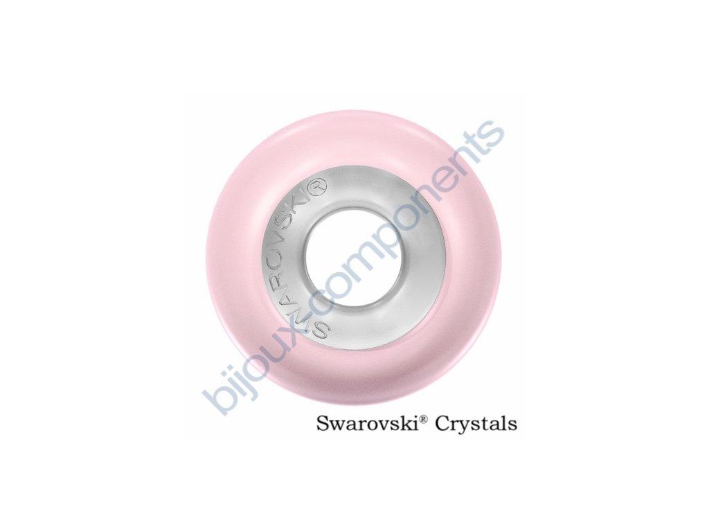 SWAROVSKI CRYSTALS BeCharmed Pearl - crystal pastel rose steel, 14mm