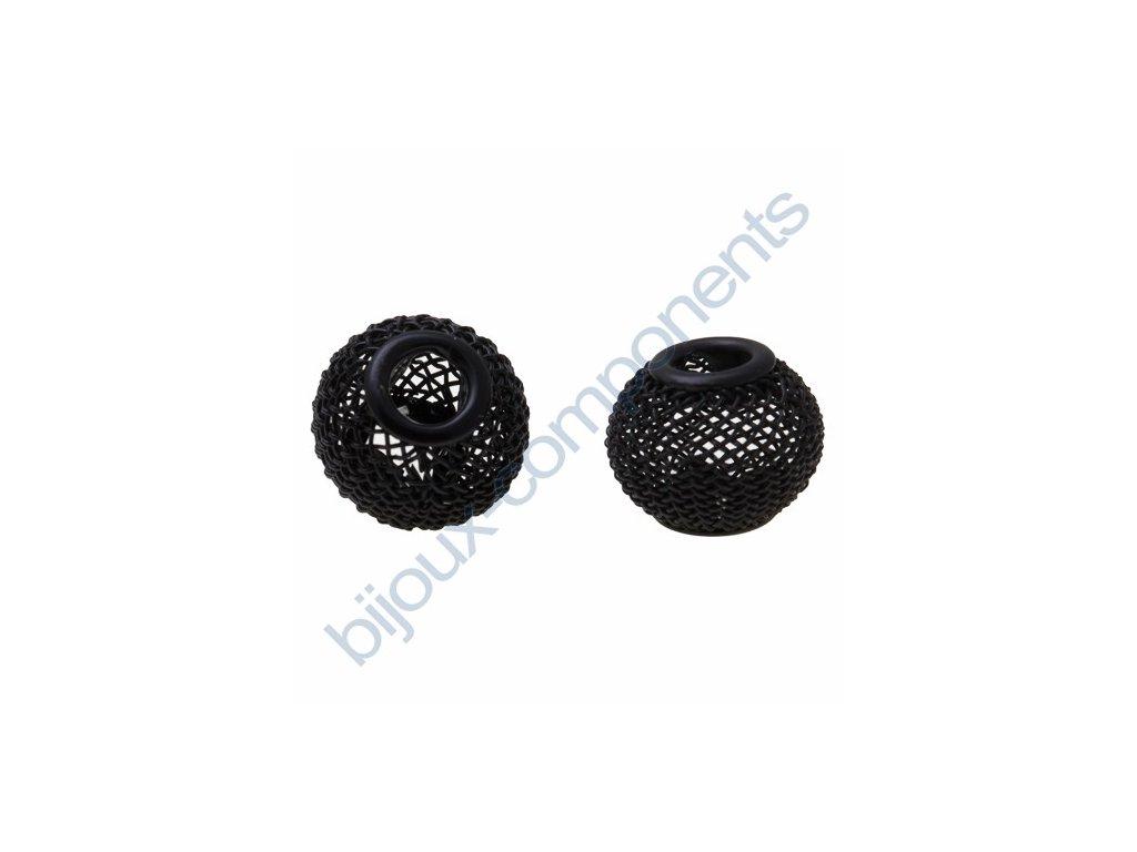 Síťovaná rondelka - černá