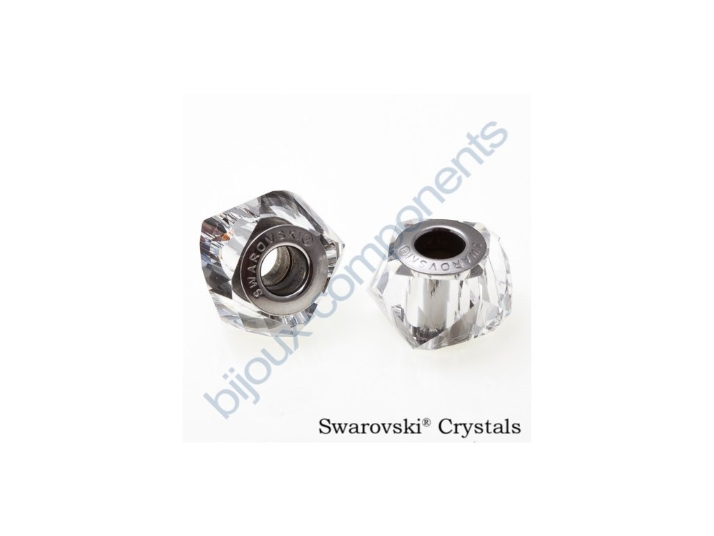 SWAROVSKI ELEMENTS BeCharmed Helix - crystal steel, 14mm
