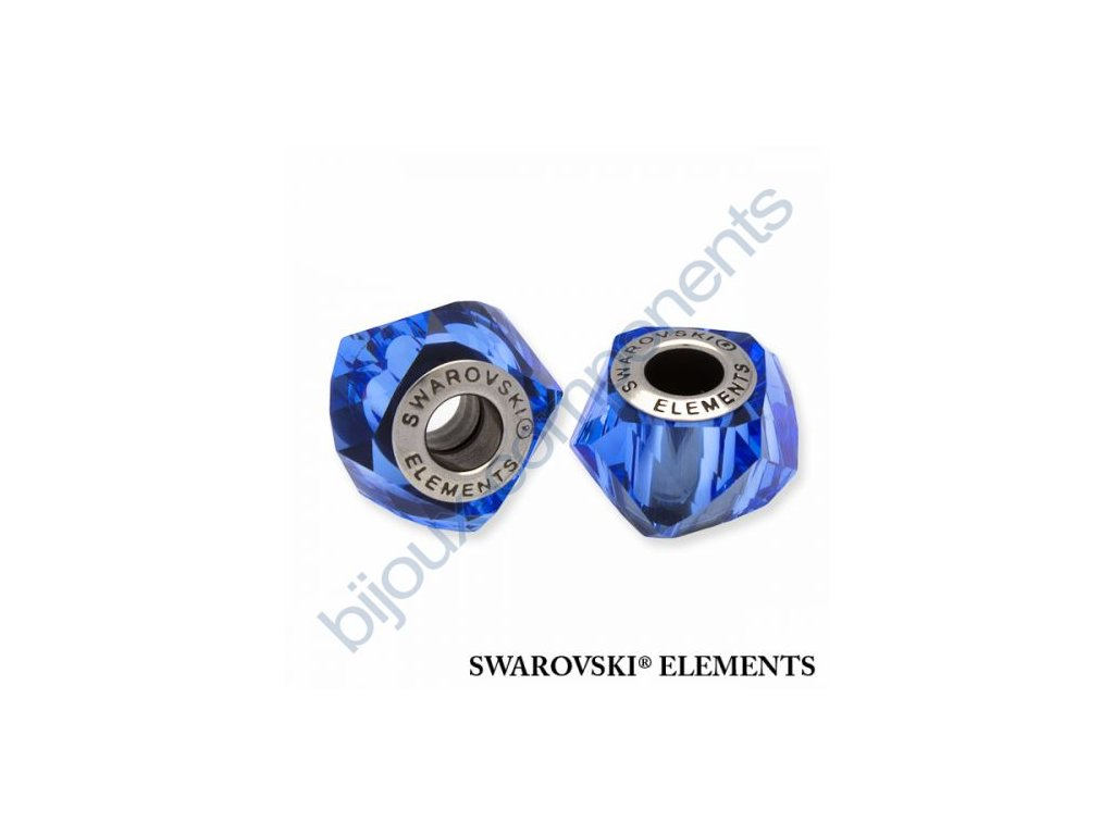 SWAROVSKI ELEMENTS BeCharmed Helix - sapphire steel, 14mm