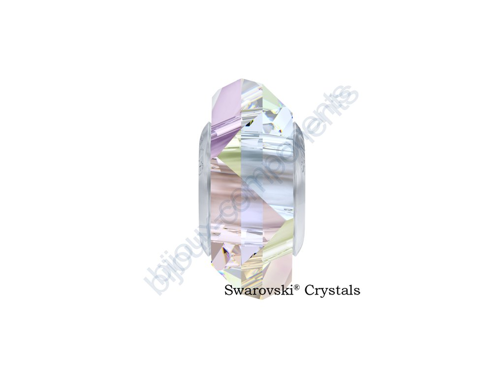 SWAROVSKI ELEMENTS BeCharmed Fortune - crystal AB steel, 14mm