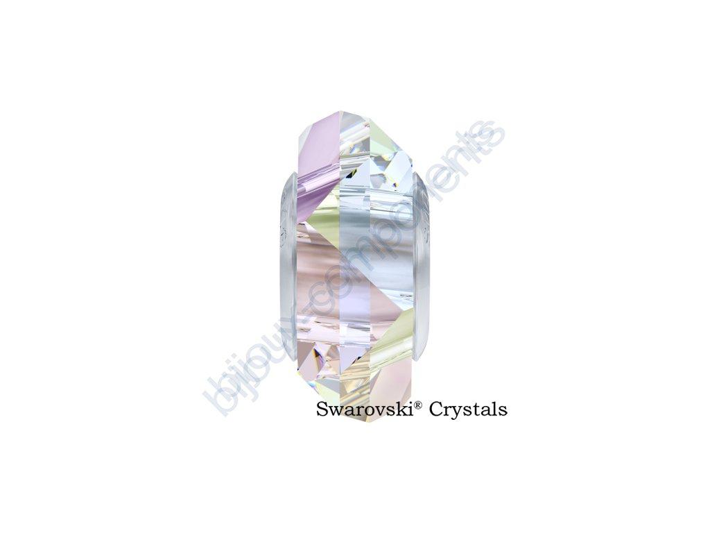 SWAROVSKI ELEMENTS BeCharmed Fortune - crystal AB steel, 14mm