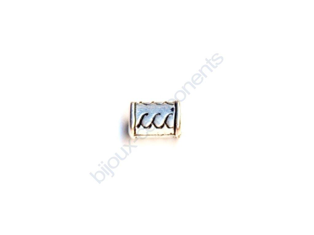 Akrylové korálky - 10x6,5 mm