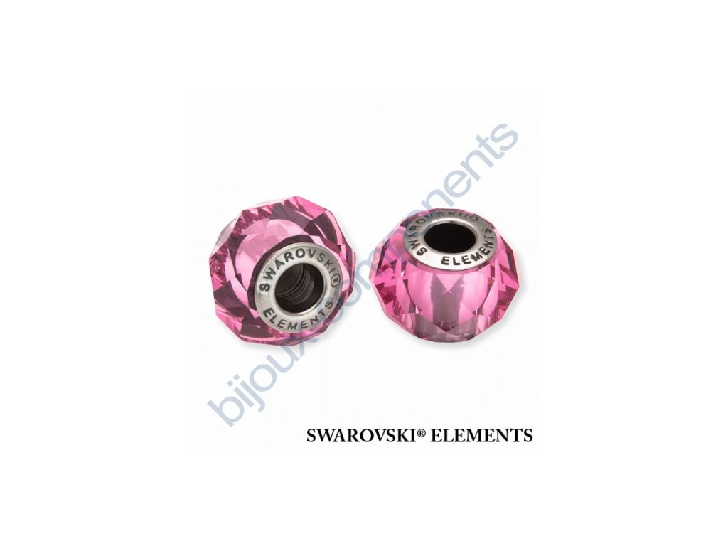 SWAROVSKI ELEMENTS BeCharmed Briolette - rose steel, 14mm