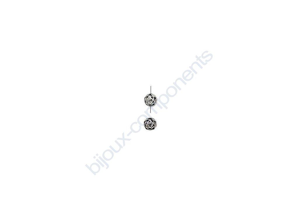 Akrylové korálky - 6mm