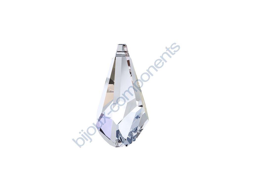 SWAROVSKI ELEMENTS přívěsek - polygon, crystal AB, 17mm