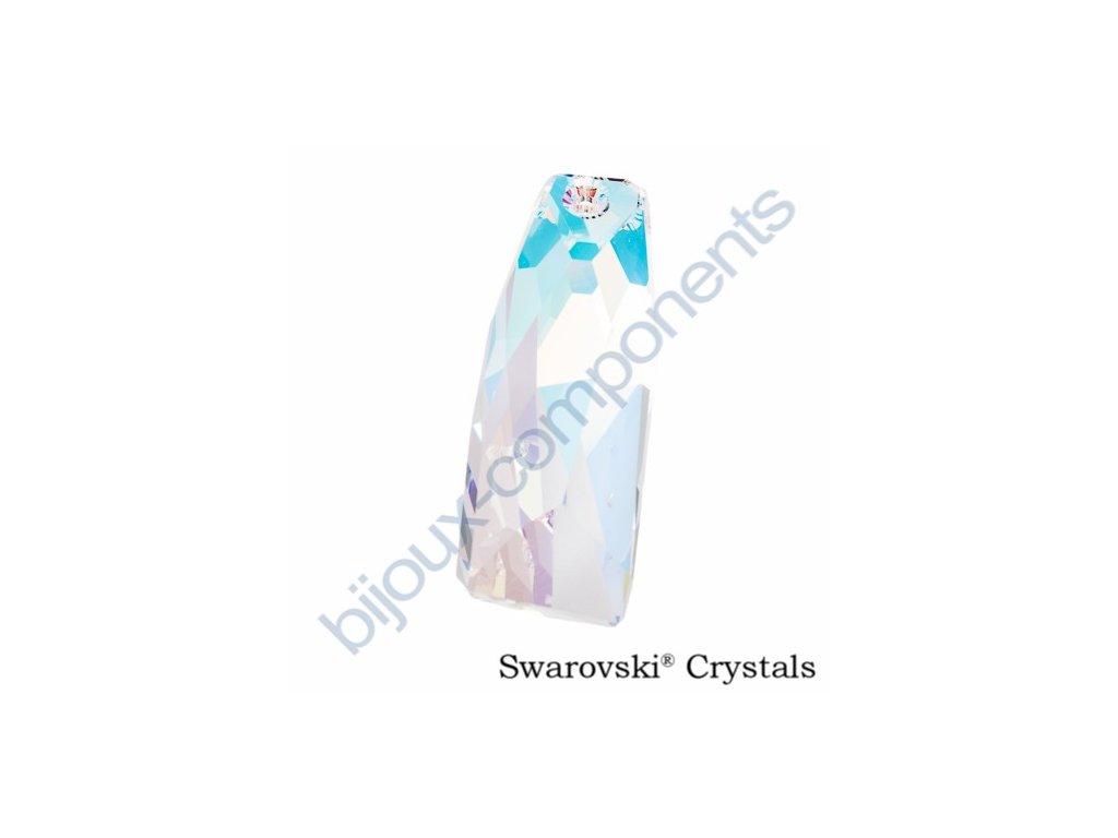 SWAROVSKI CRYSTALS přívěsek - crystalactite, crystal AB, 35mm