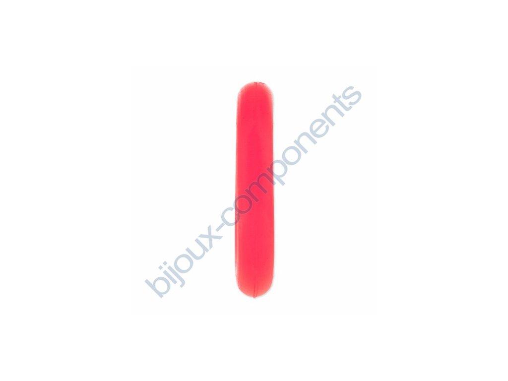 Gumové kroužky - neonově růžový