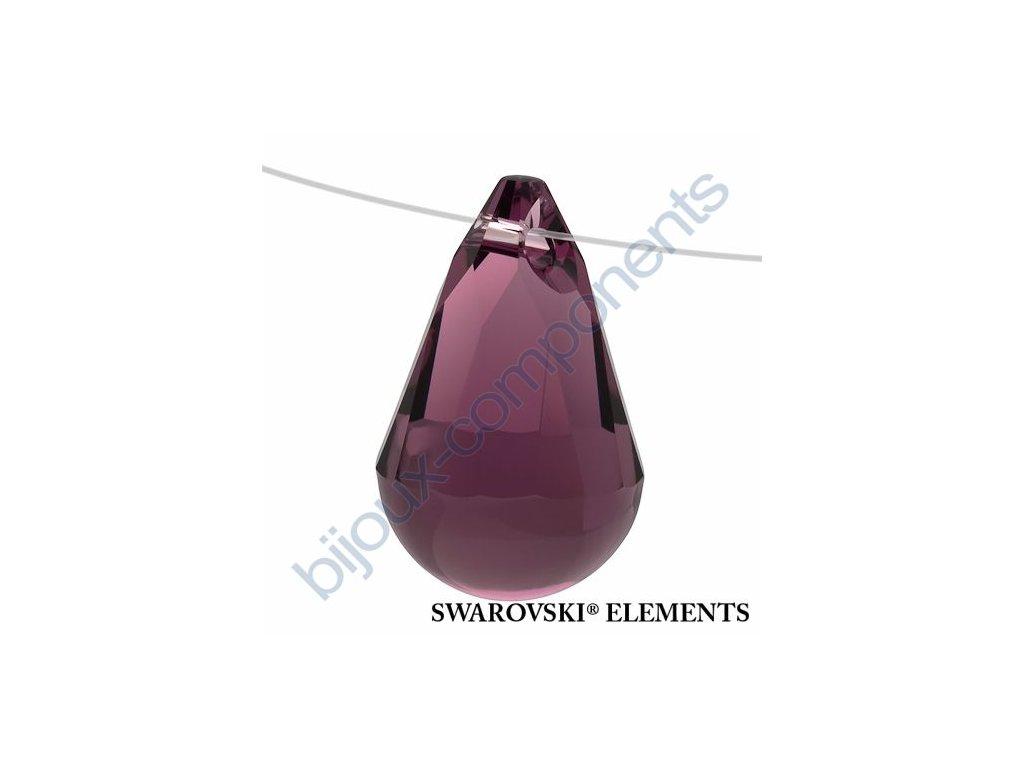 SWAROVSKI ELEMENTS přívěsek - Cabochette, amethyst, 13mm