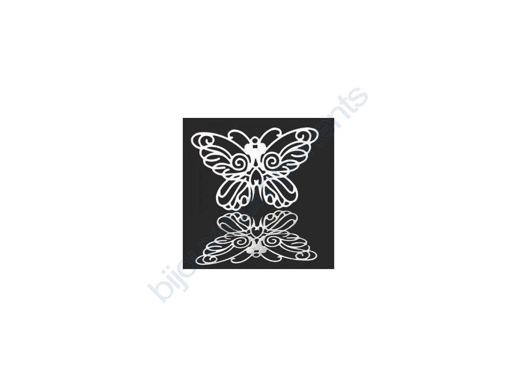 Přívěsek motýl cca 25x37mm