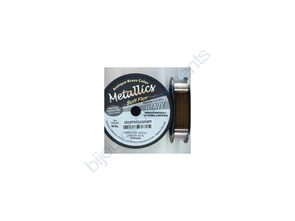 Nylonové lanko Soft Flex, 0,61mm