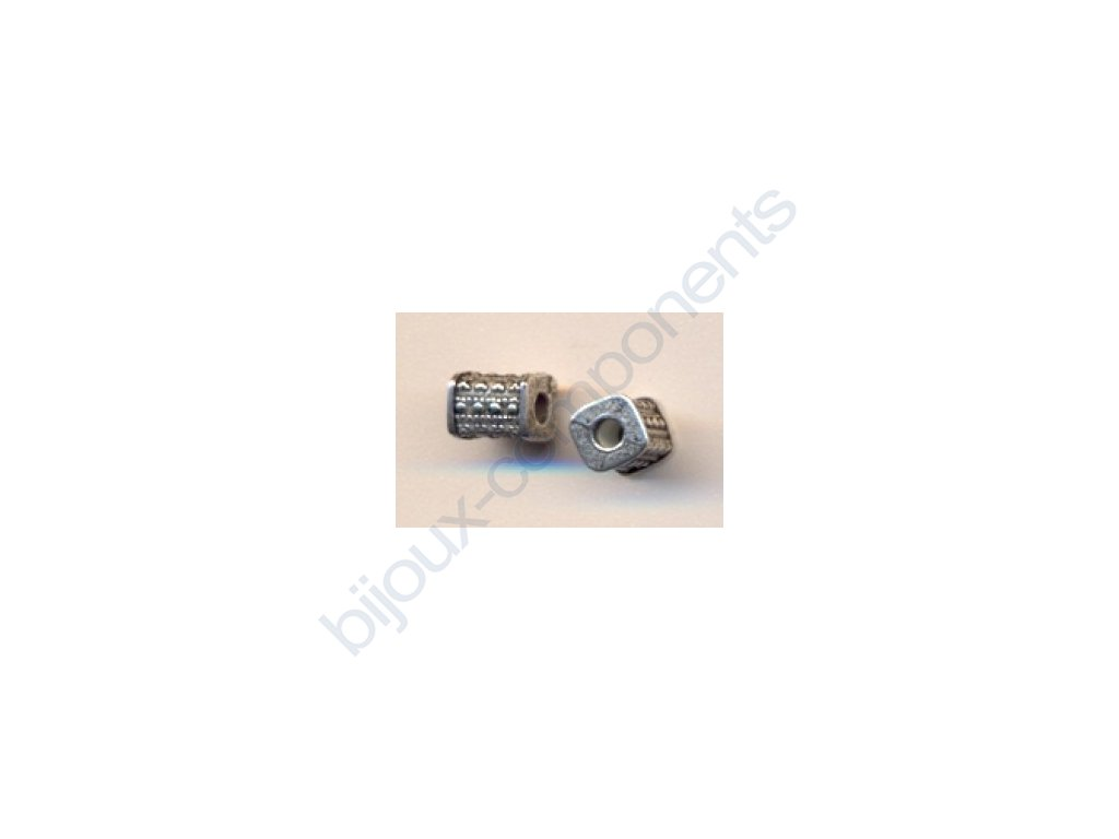 Akrylové korálky - 6,3x5,3 mm