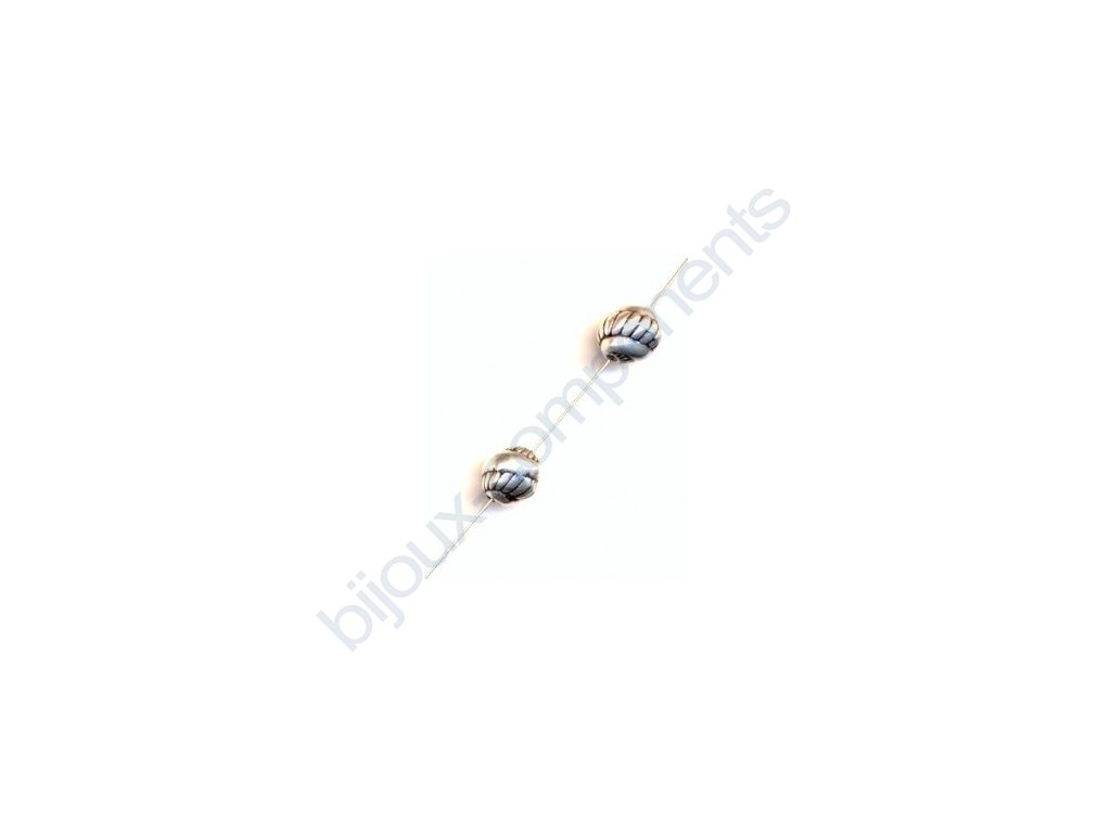 Akrylové korálky - 8,8x7,8 mm