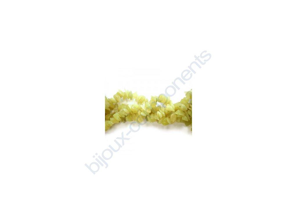Polodrahokamové korálky