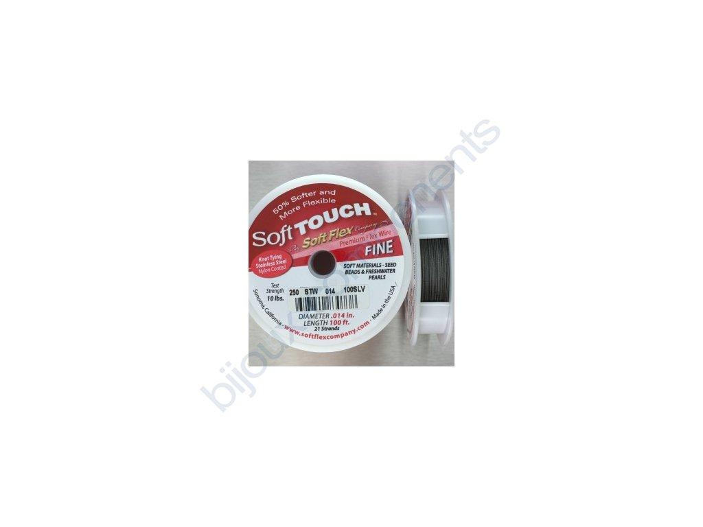 Nylonové lanko Soft Touch, 0,35mm