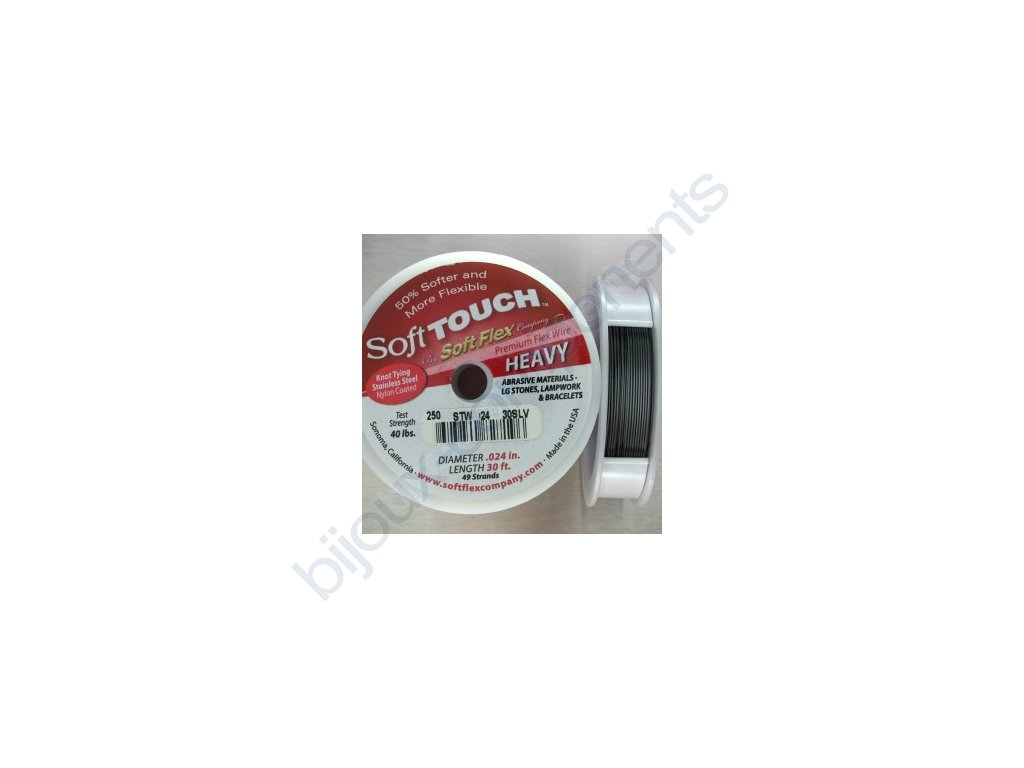 Nylonové lanko Soft Touch, 0,61mm