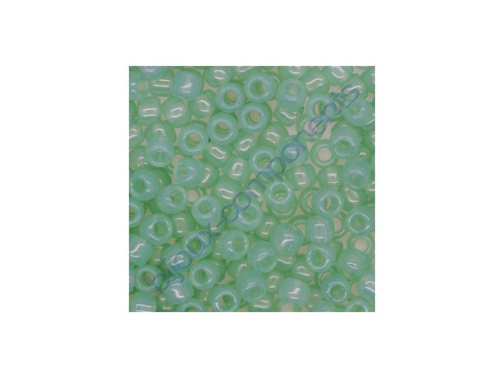 TOHO rokajl, Ceylon Jade, vel.1,5 mm, průtah 0,5 mm