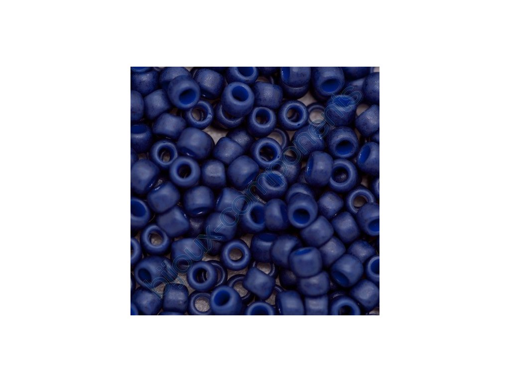 TOHO rokajl, Semi Glazed Navy Blue, vel.3,1 mm, průtah 1,3 mm