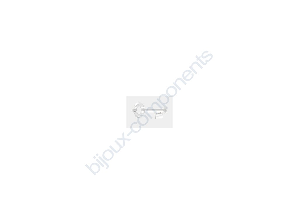 SWAROVSKI ELEMENTS přívěsek - klíč, crystal s podpisem Yoko Ono, 30mm