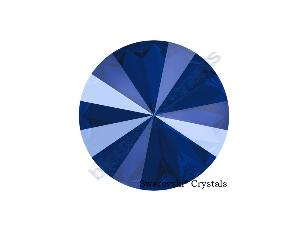 SWAROVSKI CRYSTALS kameny - Rivoli, crystal royal blue, 14mm