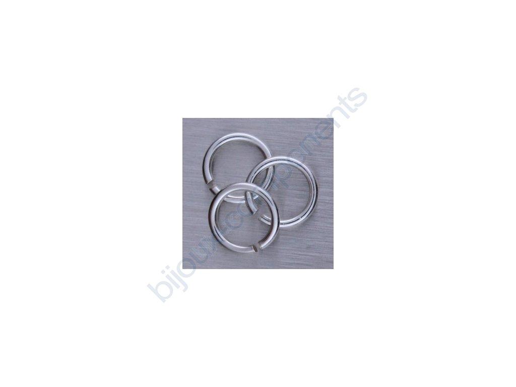 Kroužek ketlovací, cca 7x0,7mm