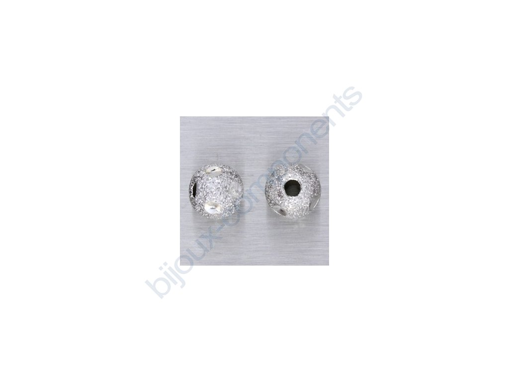 """kulička """"diamantová""""-puntíky, cca 6mm"""