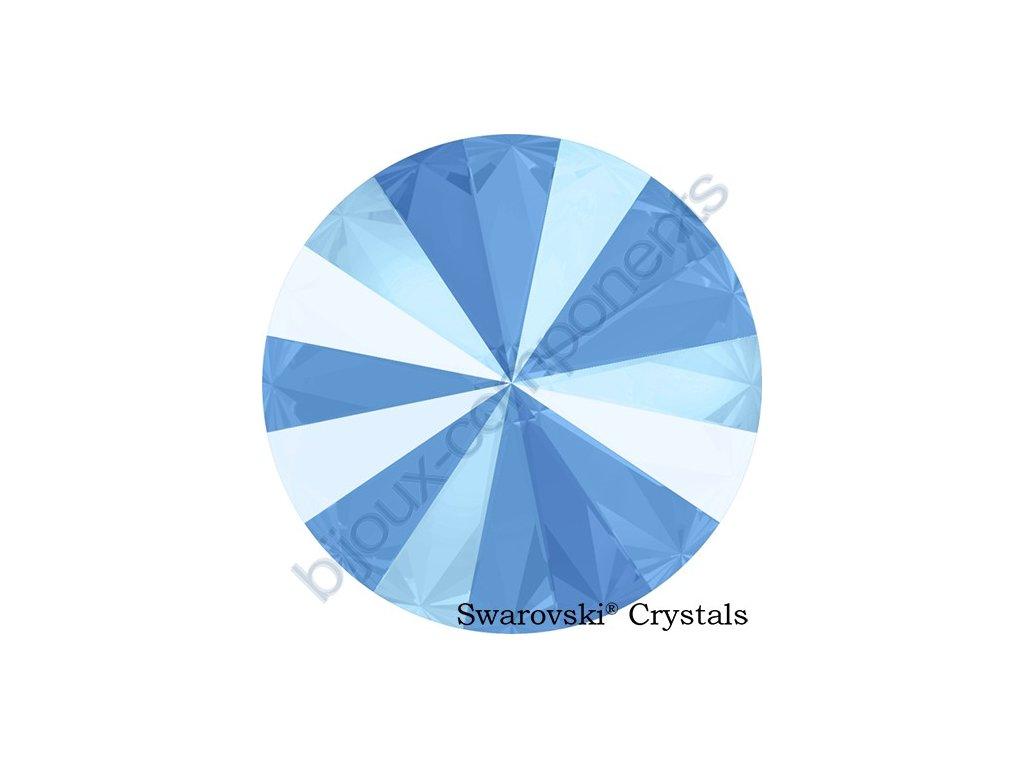 SWAROVSKI CRYSTALS kameny - Rivoli, crystal summer blue, 14mm