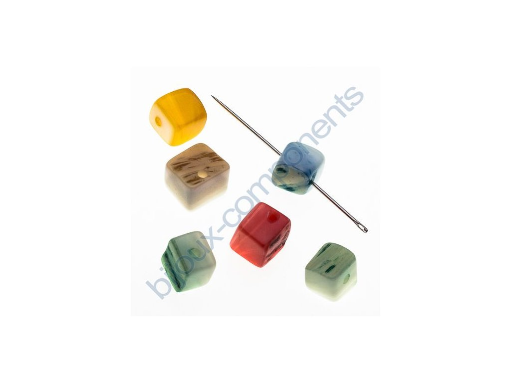 Perleťové zlomky - dobarvované - mix barev