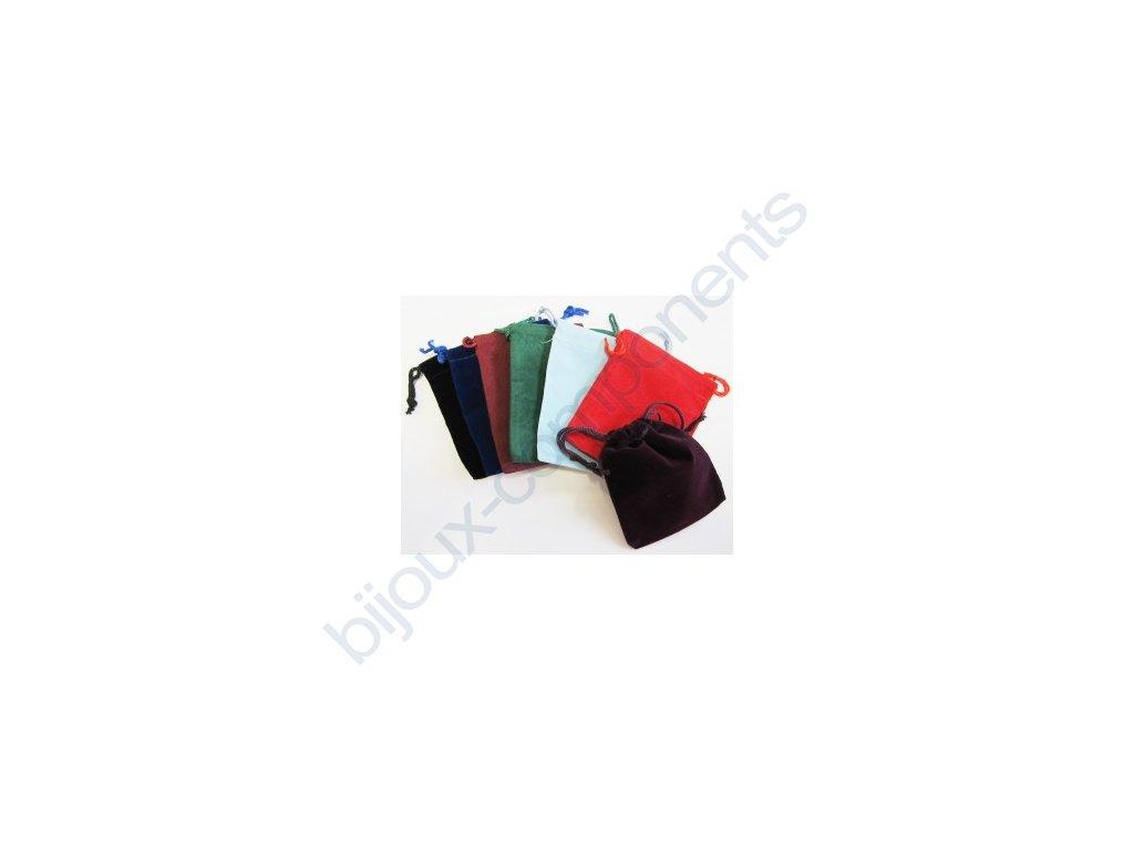 Sáček - různé barvy, cca 70x90mm