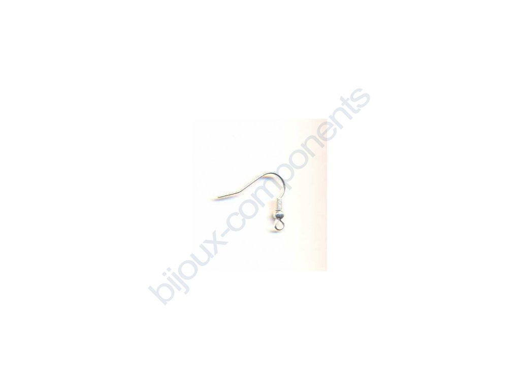 Afroháček s pružinkou a kuličkou cca 20 mm