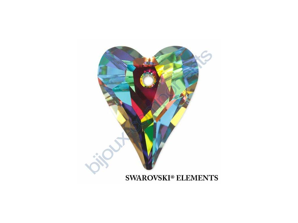 SWAROVSKI ELEMENTS přívěsek - Wild Heart, crystal VM P, 17mm