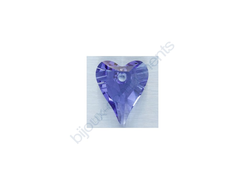 SWAROVSKI ELEMENTS přívěsek - Wild Heart, tanzanite, 12mm