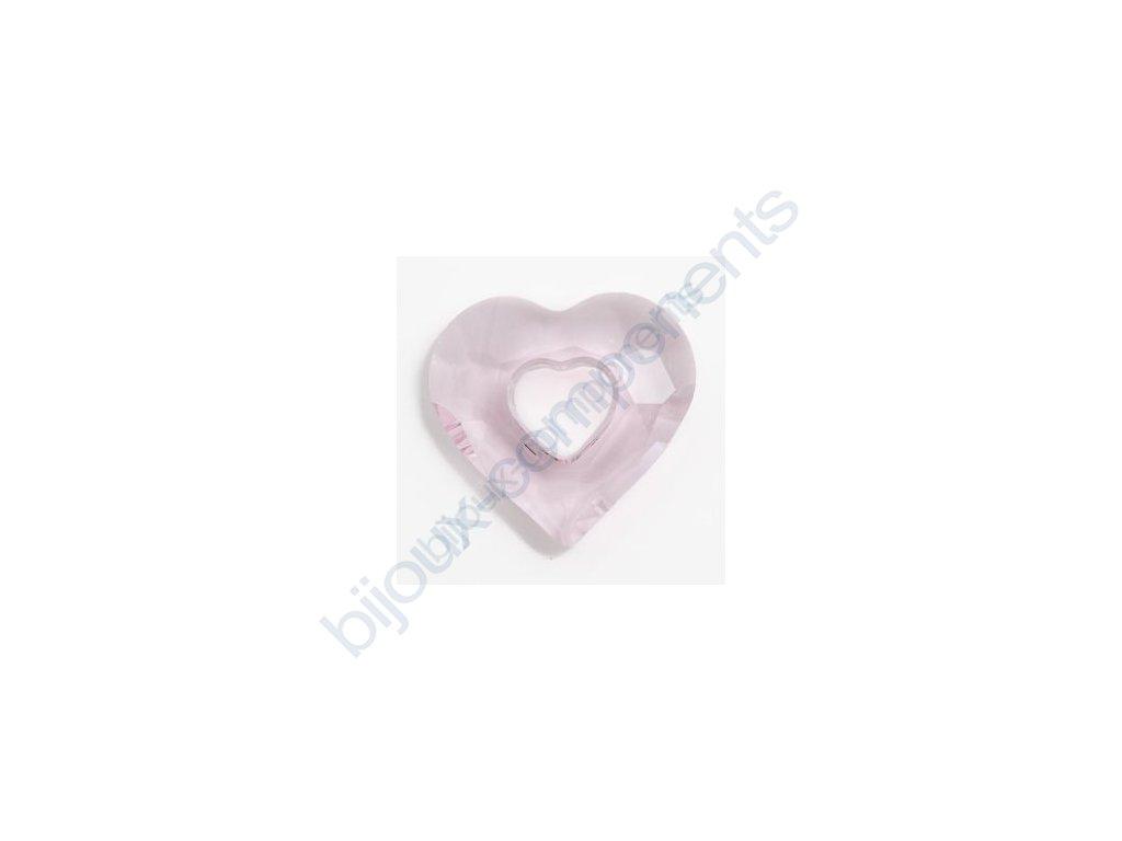 SWAROVSKI ELEMENTS přívěsek - Miss U Heart, rosaline, 17mm